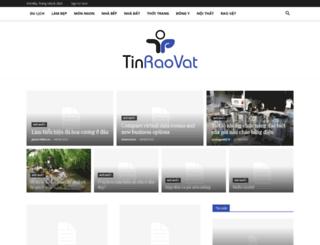 tinraovat.com.vn screenshot