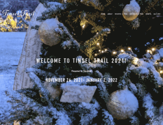tinseltrail.com screenshot