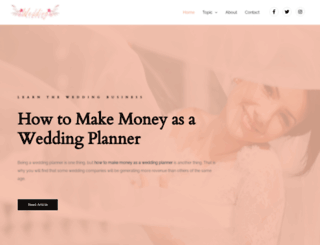 tintedwedding.com screenshot