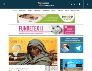 tintoreriaylavanderia.com screenshot