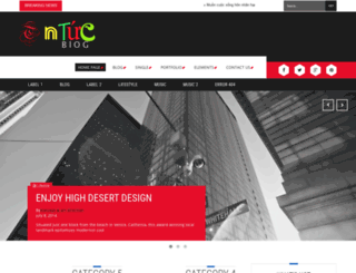 tintucblog.com screenshot