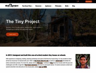 tiny-project.com screenshot