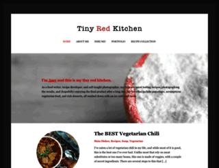 tinyredkitchen.com screenshot