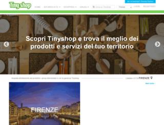 tinyshop.it screenshot