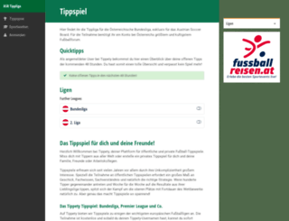 tippliga.austriansoccerboard.at screenshot