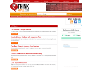tips.thinkrupee.com screenshot