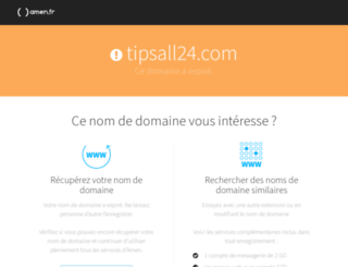 tipsall24.com screenshot