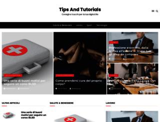 tipsandtutorials.net screenshot