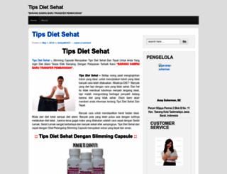 tipsdietsehat13.wordpress.com screenshot