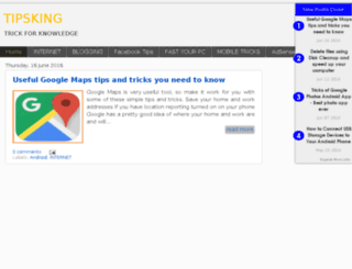 tipsking.blogspot.in screenshot