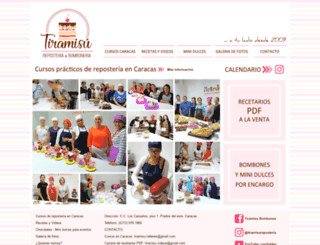 tiramisu.com.ve screenshot