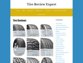 tire-review-expert.com screenshot