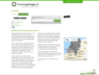tirendo.bestegarage.nl screenshot