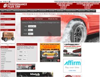 tires.performanceplustire.com screenshot