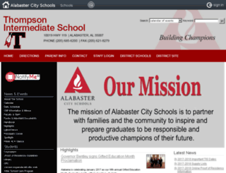 tis.alabasterschools.org screenshot