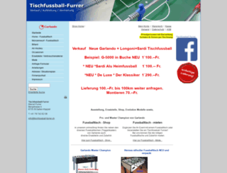 tischfussball-furrer.ch screenshot