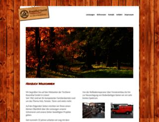 tischlerei-rosenthal.de screenshot