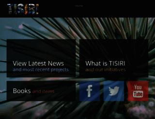 tisiri.org screenshot