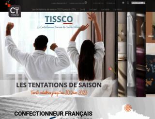 tissco.fr screenshot