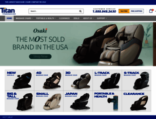 titanchair.com screenshot
