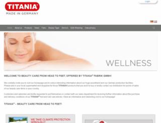 titania-fabrik.de screenshot