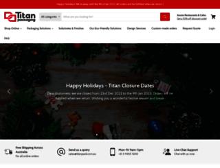 titanpack.com.au screenshot