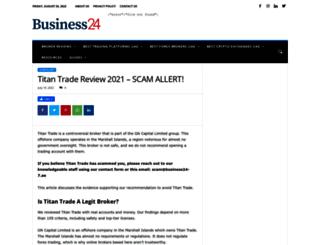 titantrade.com screenshot