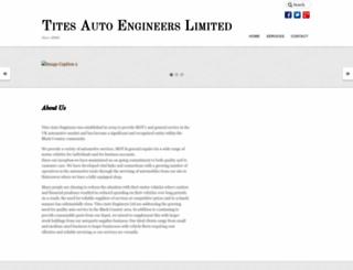 titesautoengineers.co.uk screenshot