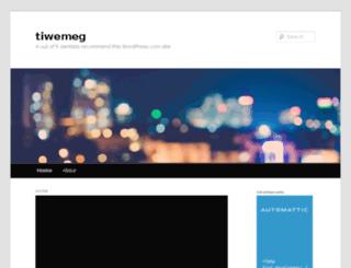 tiwemeg.wordpress.com screenshot