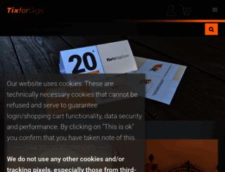 tixforgigs.com screenshot