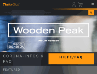 tixforgigs.de screenshot