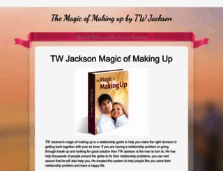 tjacksonmagicofmakingup.weebly.com screenshot