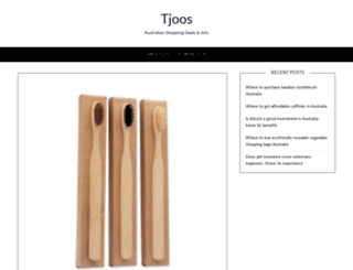 tjoos.com.au screenshot