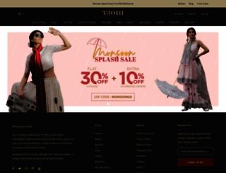 tjori.com screenshot