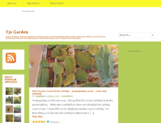 tjsgarden.com screenshot
