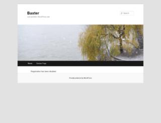 tk-baxter-wp.tekyhost.com screenshot