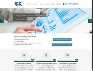 tkacc.com screenshot