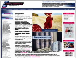 tkaniny-zanderino.pl screenshot