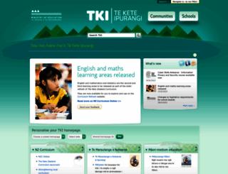 tki.org.nz screenshot