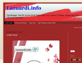 tkj36lazuardi.blogspot.com screenshot