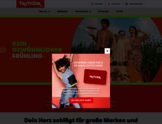tkmaxx.de screenshot