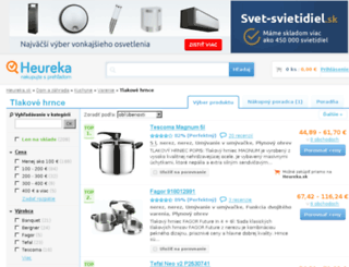 tlakove-hrnce.heureka.sk screenshot