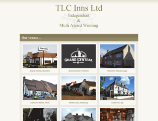tlcinns.co.uk screenshot