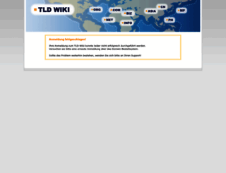 tldwiki.domain-bestellsystem.de screenshot