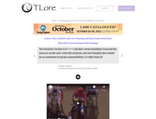 tlore.net screenshot