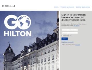 tm.hilton.com screenshot