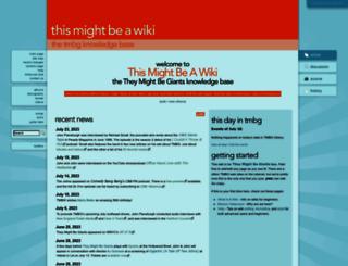 tmbw.net screenshot