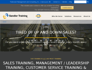 tmcinc.sandler.com screenshot
