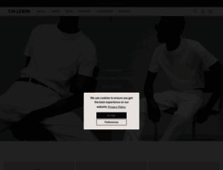 tmlewin.com screenshot