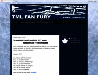 tmlfanfury.blogspot.com screenshot